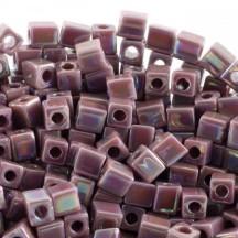 Miyuki Cube 4 mm 0410R Opaque Mauve AB