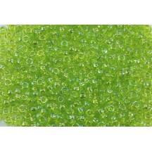 Margele Toho 11/0 0164 Trans Rainbow  Lime Green
