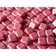 Tile CzechMates 6mm 02010/25008 Pastel Pink