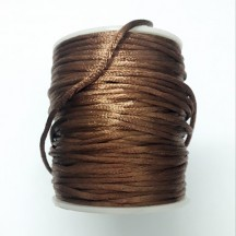 Snur Satin 2mm maro