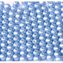 Margele Rotunde 4mm 29310AL Powdery Pastel Blue