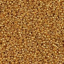 Margele de nisip Miyuki 15/0 5gr 4203 Duracoat Galvanized Yellow Gold