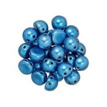 CzechMates Caboshon 06B03 Color Trends-Saturated Metallic Nebula Blue