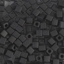 Miyuki Cube 4mm 0401F Black Matted