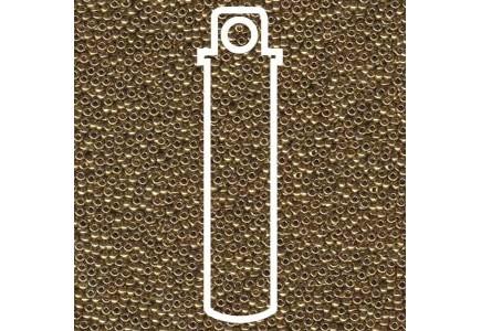 Margele de nisip Miyuki 15/0 Tub 8.2gr 0457L Metallic Light Bronze