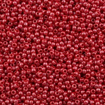 Margele Toho 11/0 0125 Opaque Lustered Cherry