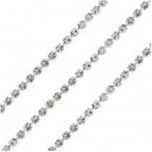 Preciosa 8.5ss Cup Chain Silver Plated