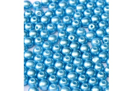 Margele Rotunde 3mm 02010/25020 Pastel Turquoise