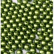 Margele Rotunde 4mm 02010/25034 Pastel Olivine