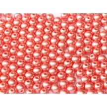 Margele Rotunde 4mm 25007 Pastel Lt Coral