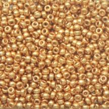 Margele de nisip Miyuki 15/0 5gr Galvanized Yellow Gold 1053