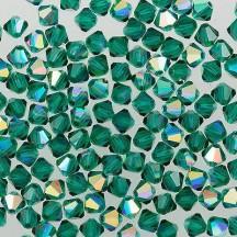 Preciosa 3 mm Emerald AB