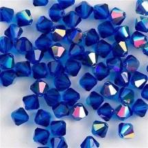 Preciosa 4mm Capri Blue AB