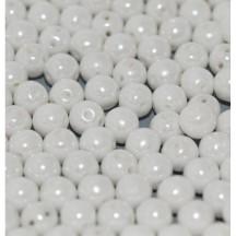 Margele Rotunde 6mm 03000/14400 Chalk White Shimmer