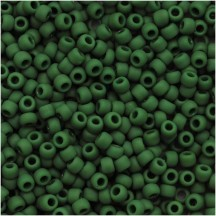 Margele Toho 11/0 0047HF Opaque Frosted Pine Green