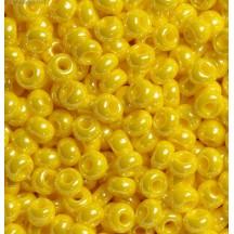 Margele de nisip Preciosa Ornela 10/0 19001/84110 Yellow Lustered AB