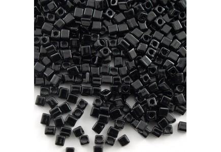 Miyuki Cube 3mm 0401 Opaque Black