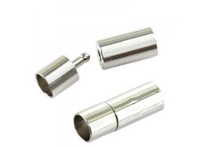 Inchizatoare cu surub 6mm argintie