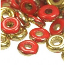 O Beads 93200/26441 Opaque Red Amber