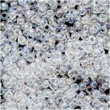 Margele Toho 15/0 0161 Transparent Rainbow Crystal
