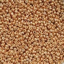 Margele de nisip Miyuki 15/0 Galvanized Yellow Gold 1053