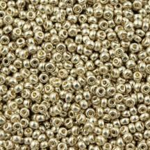 Margele de nisip Miyuki 6/0 4201 Duracoat Galvanized Silver