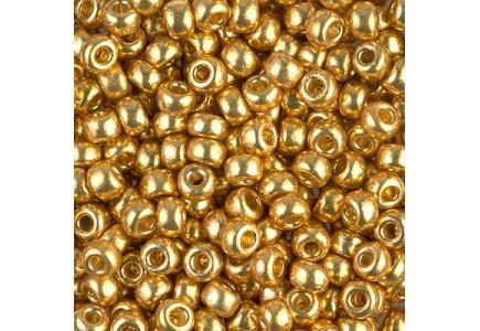 Margele de nisip Miyuki 6/0 4202 Duracoat Galvanized Gold