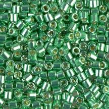 Delica 11/0 DB1844 Duracoat Galvanized Dk Mint Green