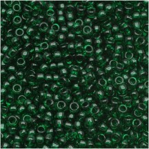 Margele Toho 6/0 0939 Transparent Green Emerald