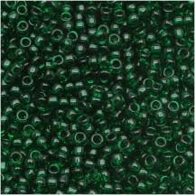 Margele Toho 6/0 939 Transparent Green Emerald