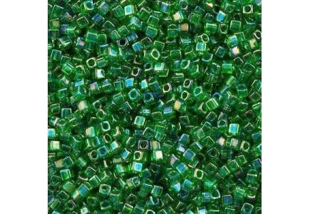 Miyuki Cube 1.8mm 0179 Transparent Green AB