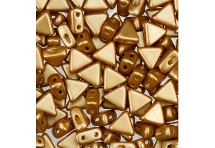 Margele Kheops Par Puca 6x6mm 02010/25003 Pastel Amber