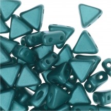 Margele Kheops Par Puca 6x6mm 02010/25043 Pastel Emerald