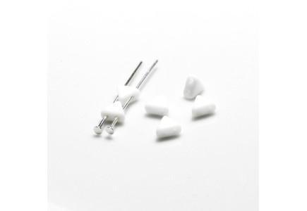 Margele Kheops Par Puca 6x6mm 03000 Opaque White