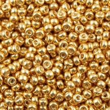 Margele de nisip Miyuki 15/0 Galvanized Gold 1052