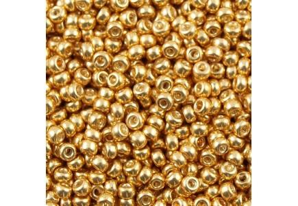 Margele de nisip Miyuki 8/0 1052 Galvanized Gold