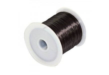 Guta elastica neagra 0.6mm