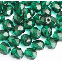 Margele Cehesti Fire-Polish 8mm 50720 Emerald