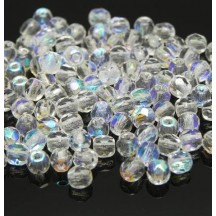 Margele Cehesti Fire-Polish 6 mm 00030/28701 Crystal AB