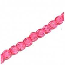 Margele Cehesti Fire-Polish 8mm 00030/67282 Crystal Rose