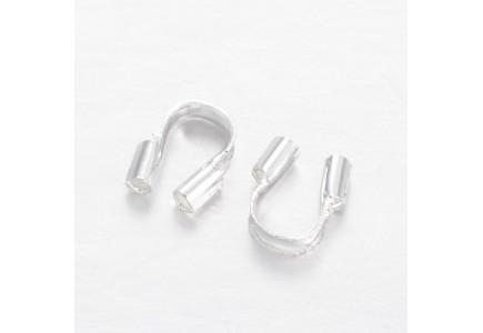 Wire guardian argintiu 4.5x4mm