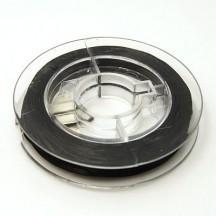 Guta elastica neagra 0.8mm