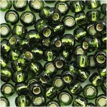 Margele Toho 8/0 37 Silver Lined Olive