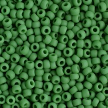 Margele Toho 11/0 0047DF Opaque Frosted Shamrock
