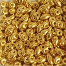 Superduo 5 gr  24KT Gold Plated