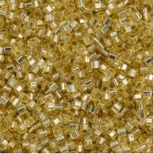 Miyuki Cube 1.8mm 0003 Silver Lined Gold