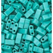 Miyuki Half Tila Opaque Turquoise Green HTL0412