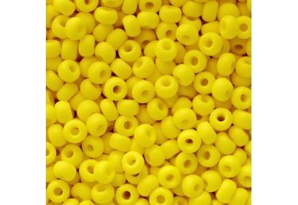 Margele De Nisip Preciosa Ornela 13/0 19001/83110 Opaque Matte Yellow