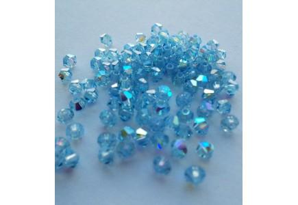 Preciosa 3 mm Aquamarine AB
