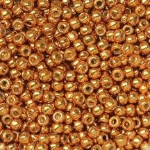 Margele Toho 8/0 PF591 Permanent Finish Galvanized Old Gold